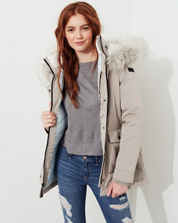 Hollister Ultimate Down Parka