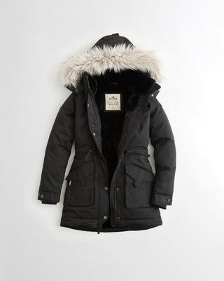 Hollister Ultimate Down Faux-Fur-Lined Parka