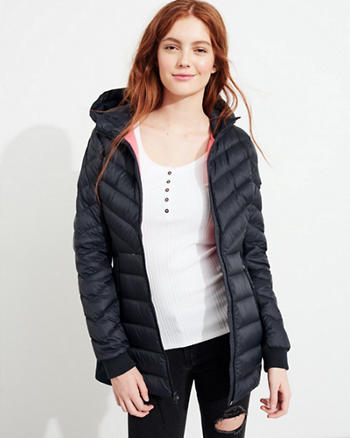 Hollister Ultimate Down Lightweight Parka