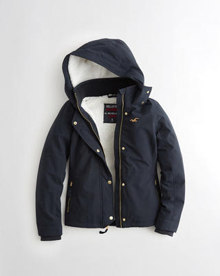 Hollister All-Weather Stretch Sherpa-Lined Jacket