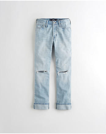 hol High-Rise Vintage Straight Jeans