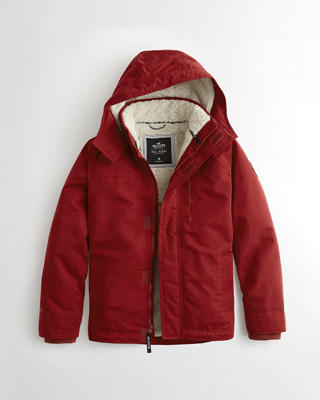 Hollister All-Weather Sherpa-Lined Jacket