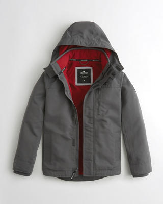 Hollister All-Weather Fleece-Lined Jacket