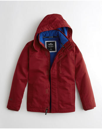 hol Hollister All-Weather Fleece-Lined Jacket