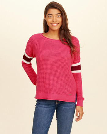 Stripe Crewneck Sweater