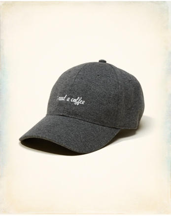 hol Embroidered Baseball Hat