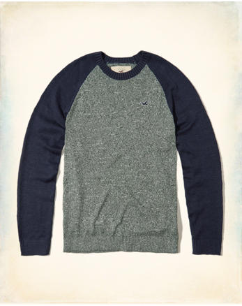 hol Colorblock Raglan Sweater