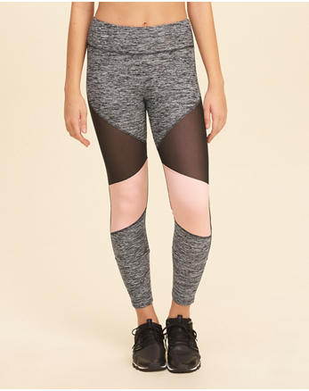 hol High-Rise Ankle-Length Active Leggings