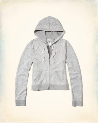 Double Layer Knit Hoodie