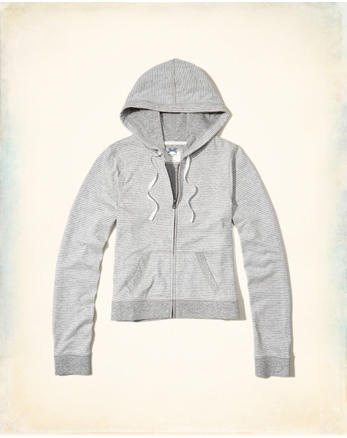 hol Double Layer Knit Hoodie