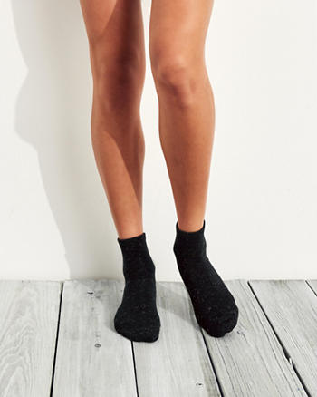 Leopard Shine Socks 2-Pack