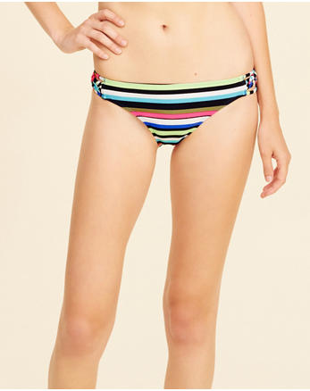 hol Braided Strappy Bikini Bottom