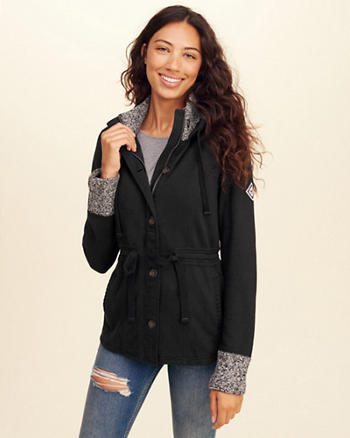 Waisted Fleece Jacket