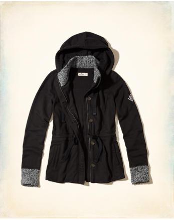 hol Waisted Fleece Jacket