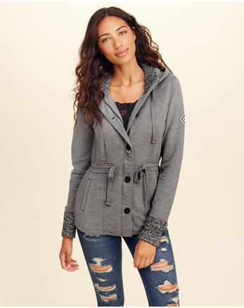hol Waisted Fleece Jacket