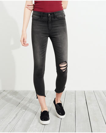 hol High-Rise Crop Jean Leggings