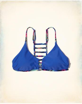 hol Cage Scoop Bikini Top