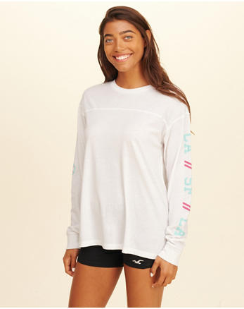 hol Oversized Graphic Tee