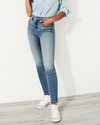 Stretch Ultra High-Rise Super Skinny Jeans