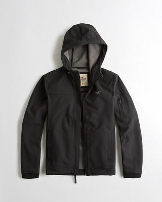 Fleece-Lined Stretch Softshell Jacket