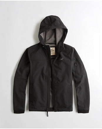 hol Fleece-Lined Stretch Softshell Jacket
