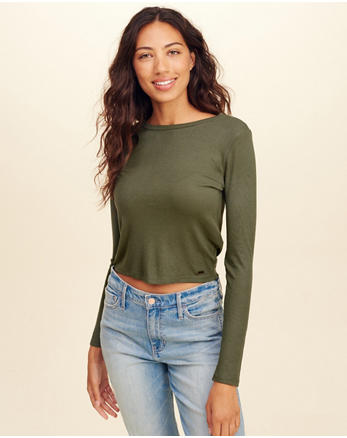 hol Must-Have Crop T-Shirt