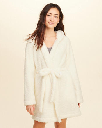Hooded Sherpa Robe