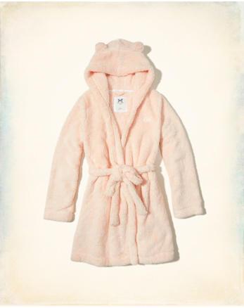 hol Hooded Sherpa Robe