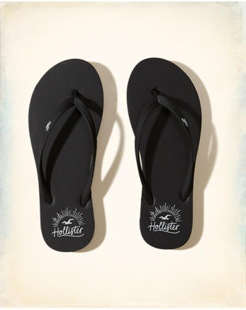 hol Rubber Icon Flip Flop