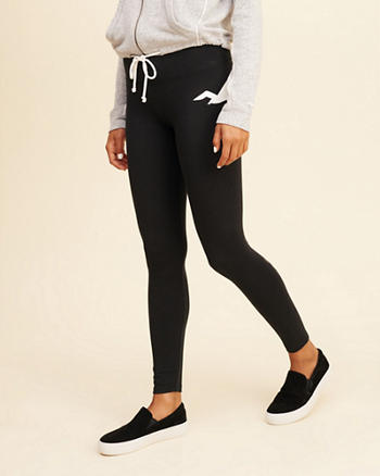 High-Rise Jersey Leggings