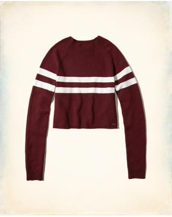 hol Mockneck Crop Sweater