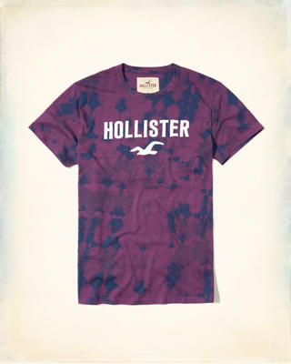 Dyed Graphic Tee