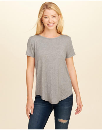 hol Open Back Easy T-Shirt