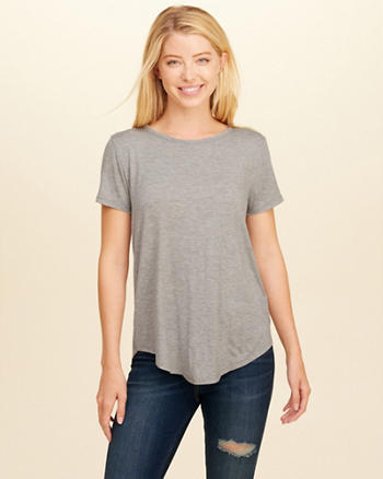 Open Back Easy T-Shirt