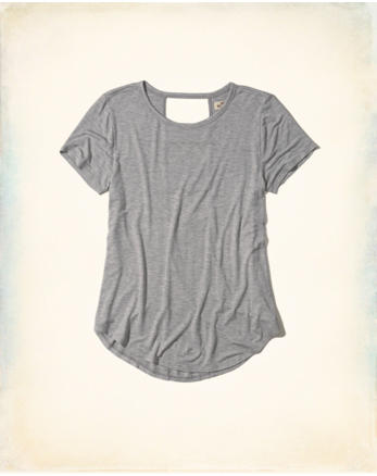 hol Open Back Easy T-Shirt