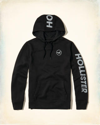 Logo Graphic Hoodie