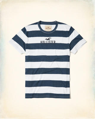 Stripe Graphic Tee