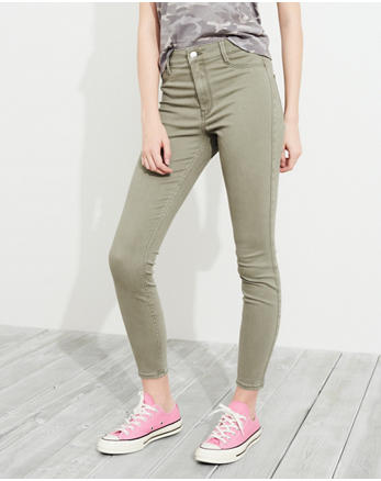 hol Advanced Stretch High-Rise Crop Jean Leggings