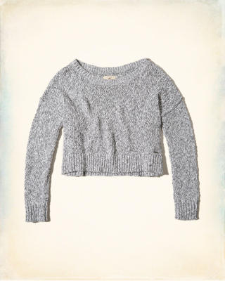 Slouchy Crop Sweater