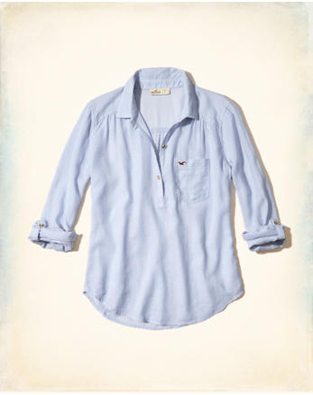 hol Icon Popover Shirt