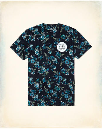 hol Floral Graphic Tee