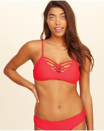 hol Strappy Scoop Bikini Top