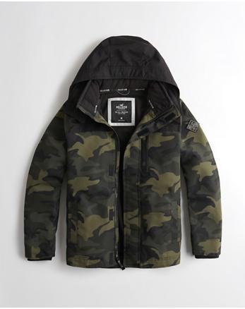 hol Hollister All-Weather Fleece-Lined Jacket