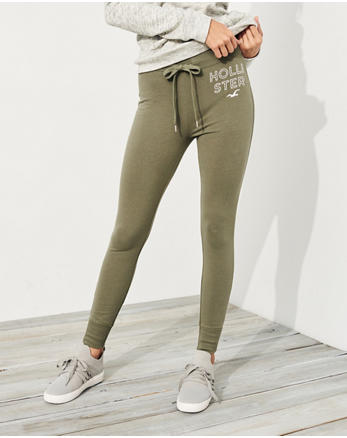 hol Ultra High-Rise Fleece Leggings