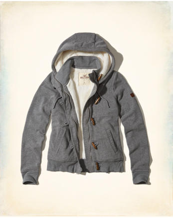 hol Full-Zip Sherpa-Lined Hoodie