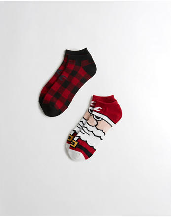 hol Holiday Ankle Socks 2-Pack