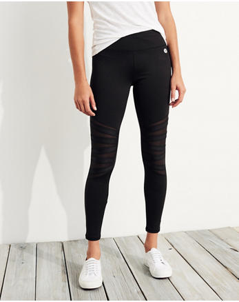 hol Mesh High-Rise Active Leggings