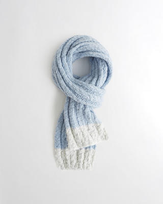 Shine Ribbed Scarf