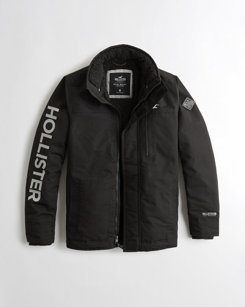 Here are a few great Hollister clearance jacket bargains (available in  limited sizes only)…