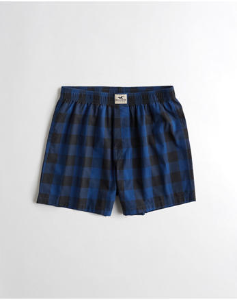 hol Patterned Woven Boxer